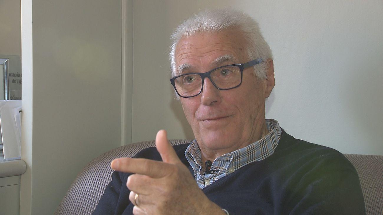 Lolo Sainz, ex entrenador del Real Madrid de baloncesto