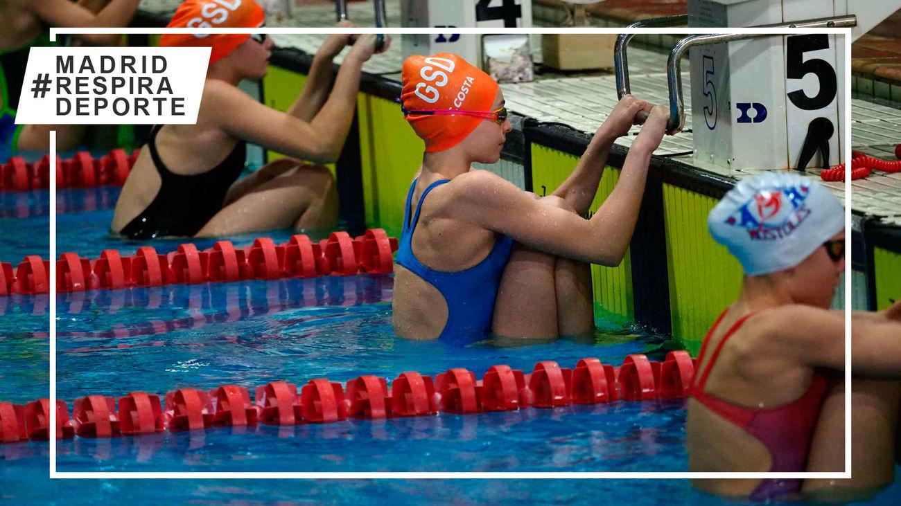 Campeonato de Madrid Alevín de natación