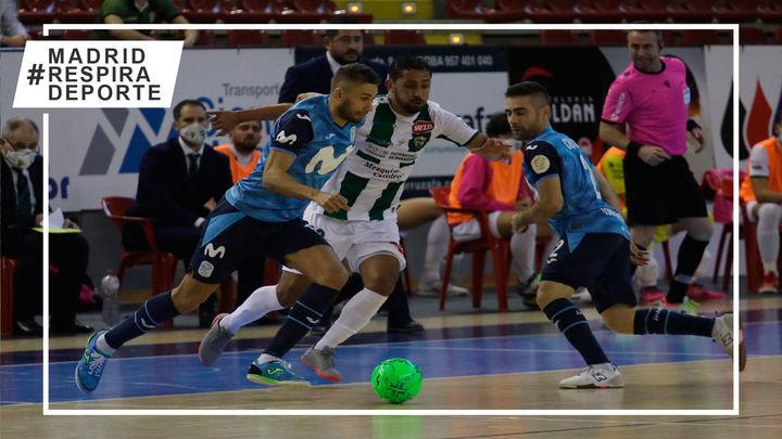 3-7.  Reacción y victoria rotunda del Movistar Inter en Córdoba