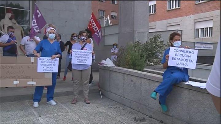 Los profesionales de la Atención Primaria de Madrid denuncian que hay 800 plazas sin cubrir en los centros de salud