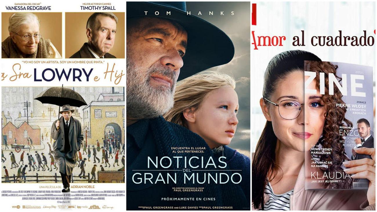 Critica de Estrenos de cine contados de otra manera: Vaqueros, pintores y periodistas