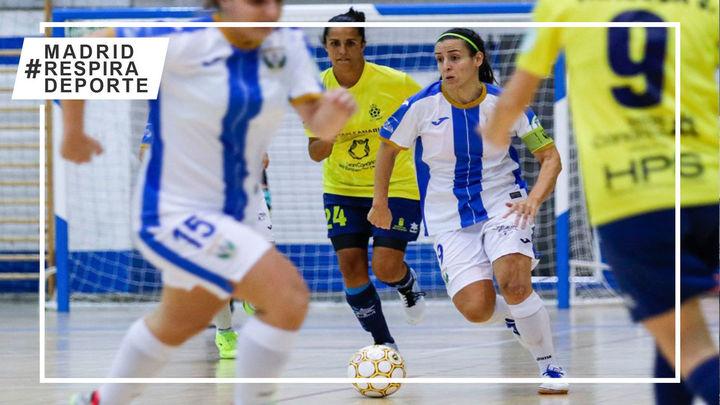 Los equipos madrileños femeninos de fútbol sala aprietan en su lucha por alcanzar los objetivos