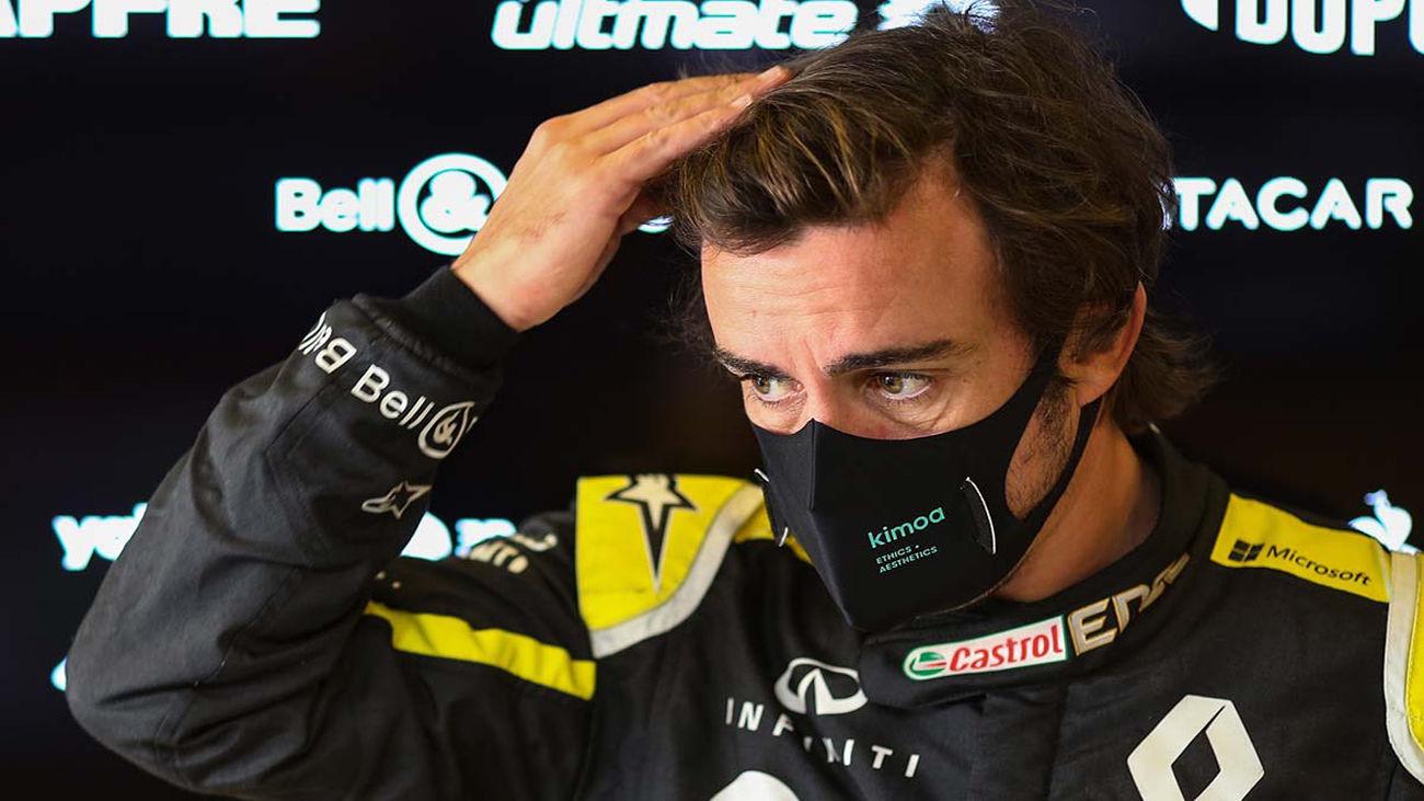 """Alonso, operado de fractura de la mandíbula: """"Estoy OK, deseando empezar la temporada"""""""