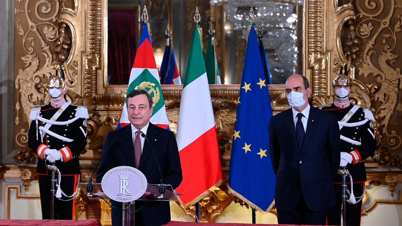 Mario Draghi anuncia su gobierno de salvación pero reserva a técnicos  Economía, Interior y Energía