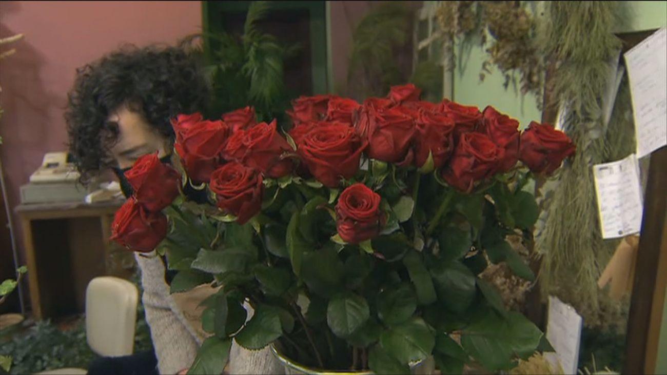 Hoteles y floristerías, preparados para San Valentín en Madrid