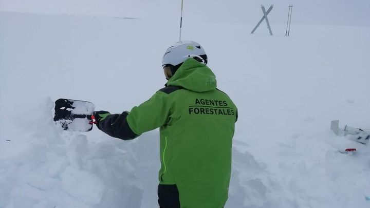 Activado el nivel 0 del Plan de Inclemencias Invernales ante el aviso amarillo de nieve en la Sierra
