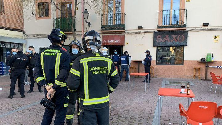 La explosión de la refrigeradora de un bar causa cinco heridos en Villaverde