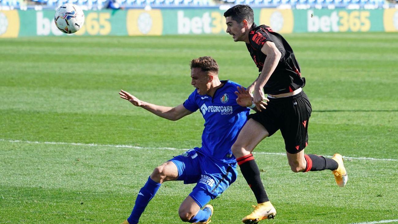 0-1. Isak da la victoria a la Real Sociedad en Getafe