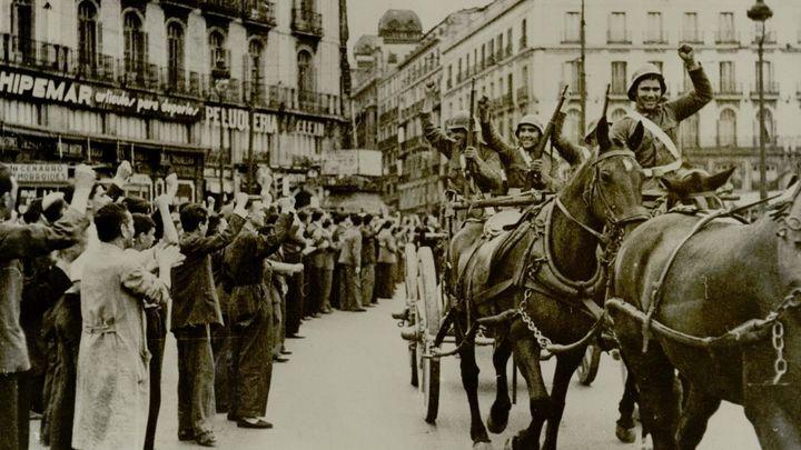 Una exposición recoge las huellas que la Guerra Civil dejó en Madrid