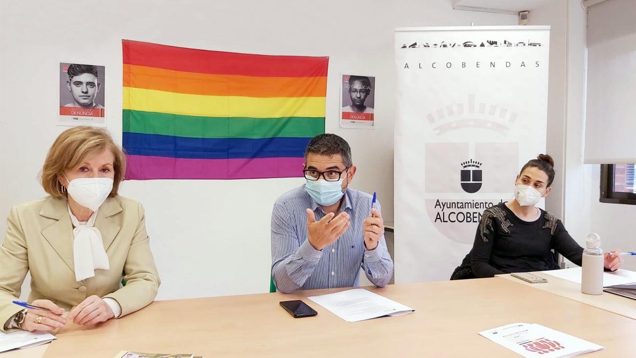 Igualdad lanza un programa con 'embajadores' para visibilizar la diversidad sexual en Alcobendas