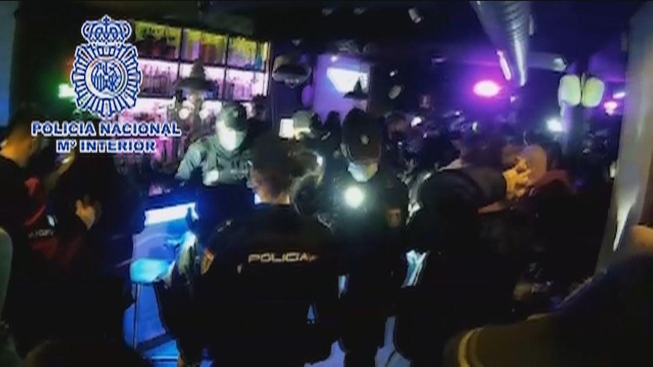 Intervienen más de 250 fiestas ilegales en el centro de Madrid este fin de semana