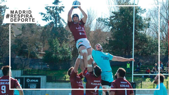 Alcobendas Rugby no cede tras derrotar al Barça