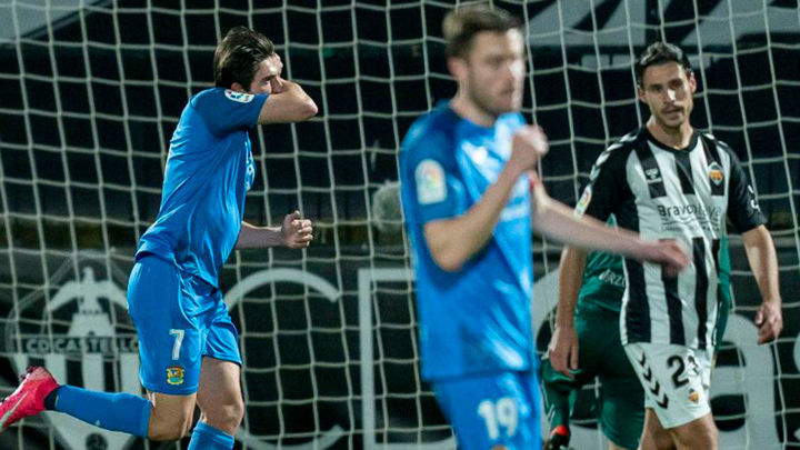 1-2. El Fuenlabrada vence al Castellón en un partido marcado por el  VAR