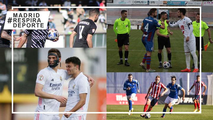 Victorias del Rayo Majadahonda y Castilla; empatan Inter, Getafe B, Las Rozas y Atleti B