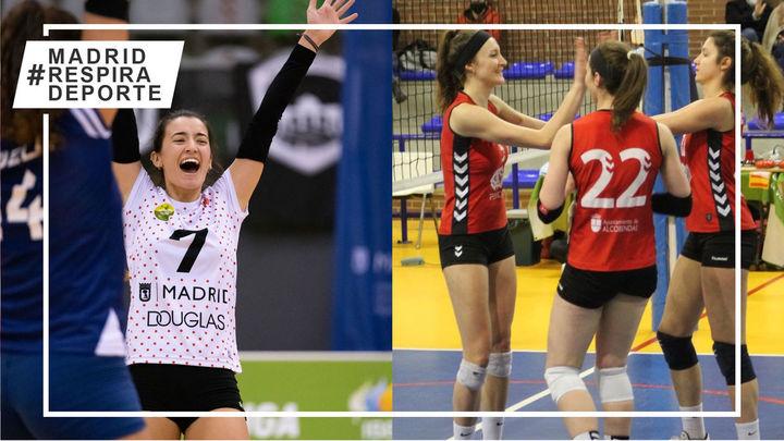 Voleibol Madrid saborea la victoria y el Alcobendas sigue en racha