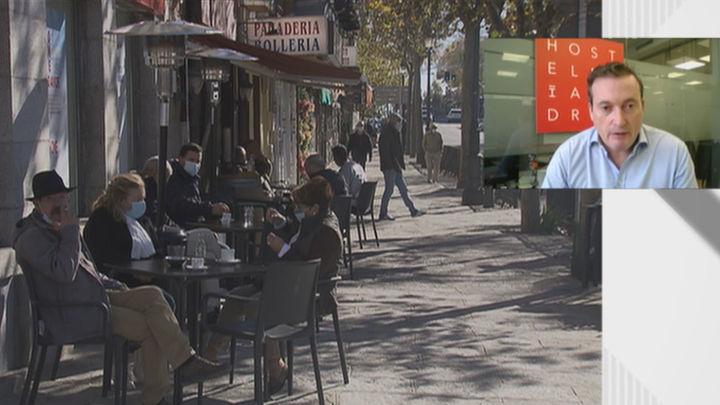 La hostelería madrileña no ve dificultades para implantar el código QR y registrar a sus clientes