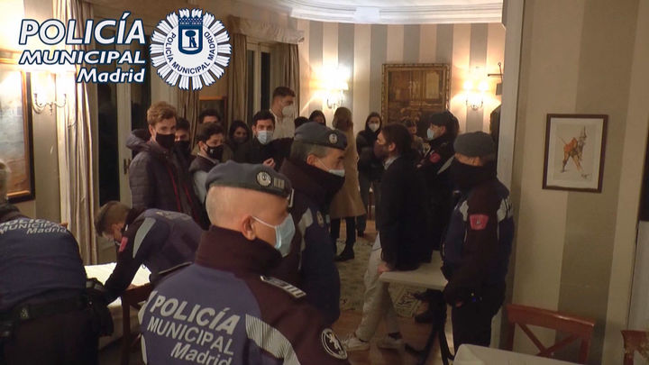 La Policia Municipal interviene 418 fiestas ilegales, en Madrid, el fin de semana