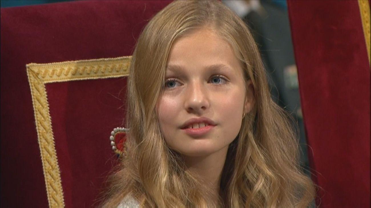 ¿Recibirá la princesa Leonor formación militar?