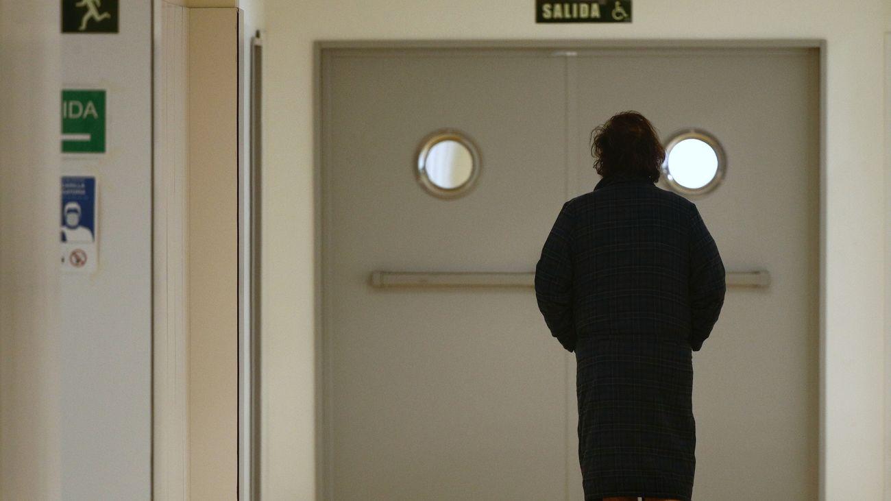 Paciente de un hospital público madrileño