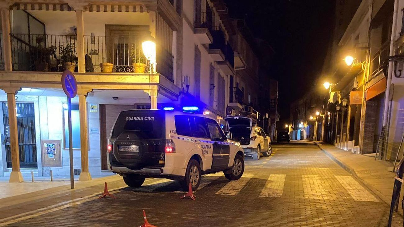 Control de la Guardia Civil en Ciempozuelos