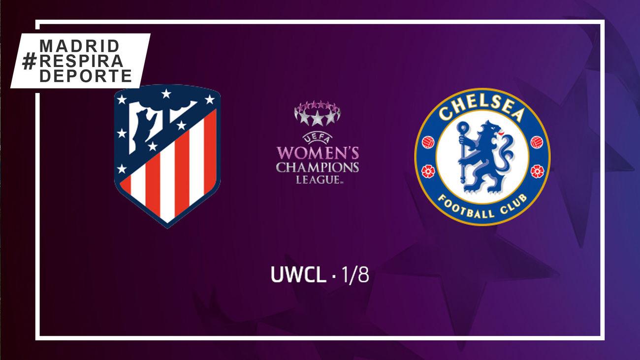 Chelsea-Atlético de Madrid, en octavos de la champions femenina