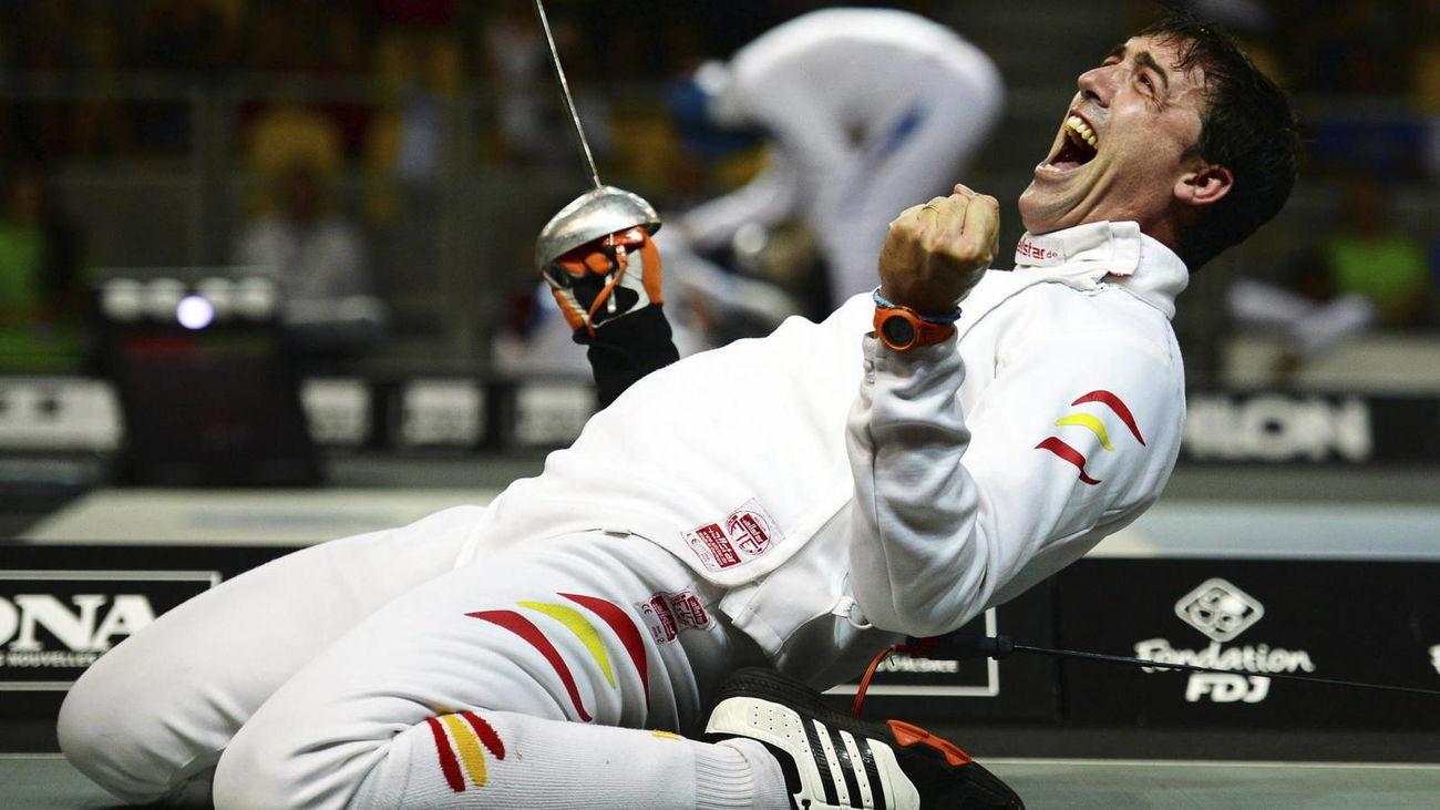 José Luis Abajo, 'Pirri', único medallista olímpico en la esgrima española en los Juegos de Pekín 2008