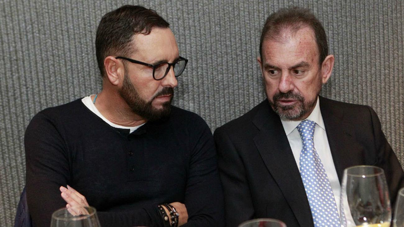 José Bordalás y Ángel Torres
