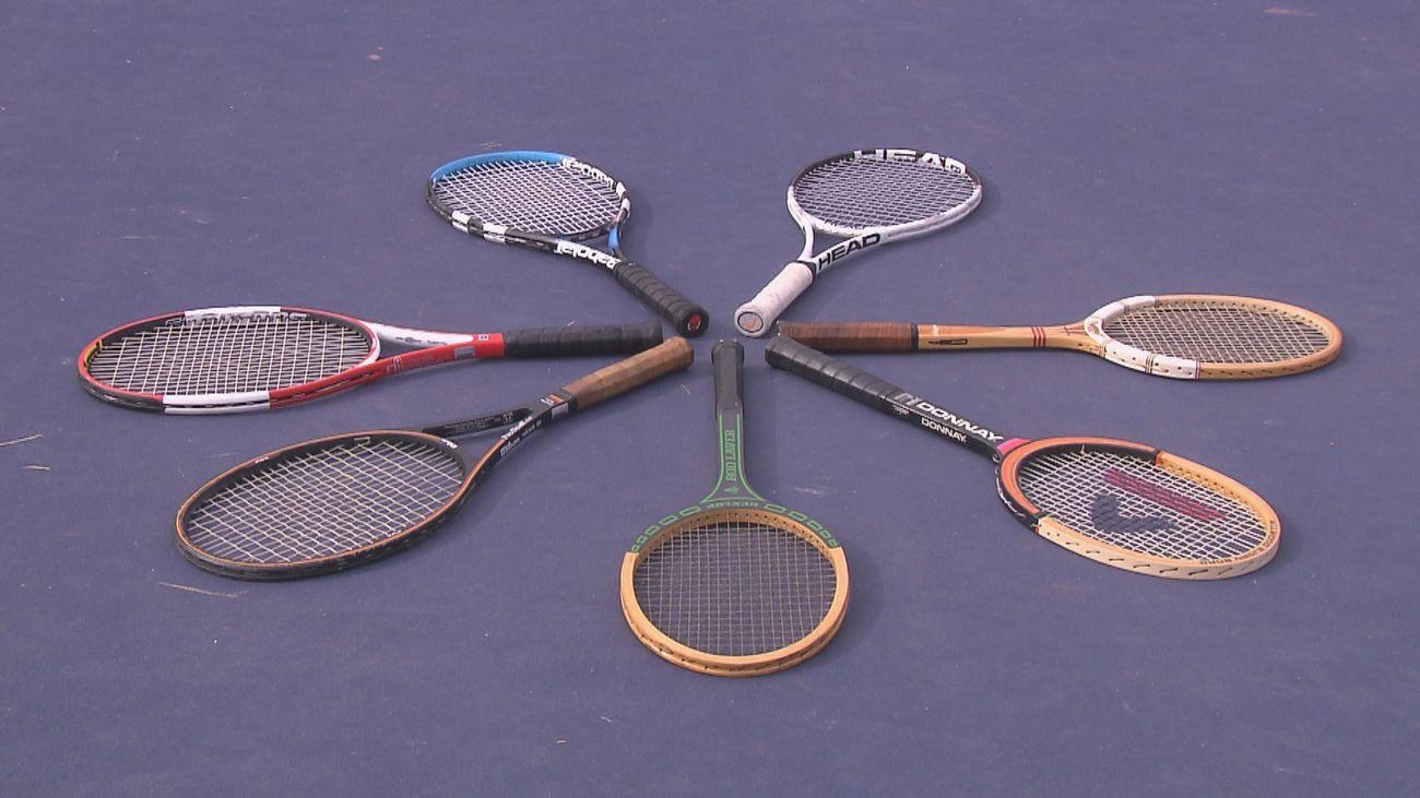 Probamos las raquetas de los más grandes tenistas de la historia