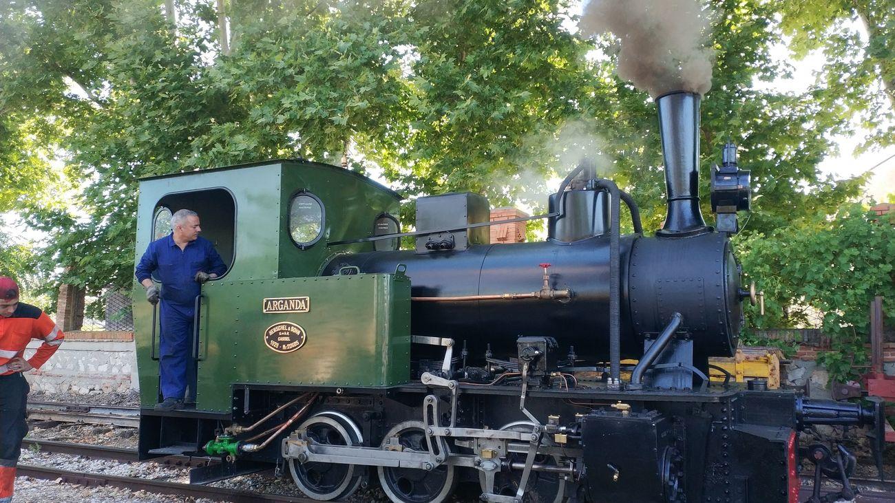 Tren turístico de Arganda