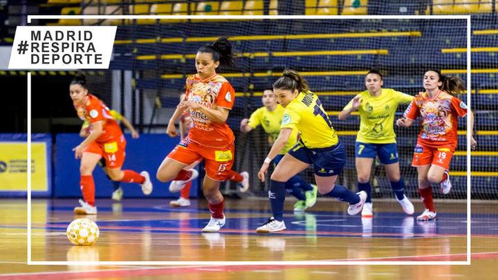 Futsi Atlético y Alcorcón lideran la liga femenina de fútbol sala una jornada más