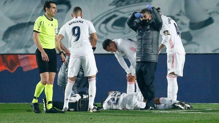 El Real Madrid, asolado por las lesiones