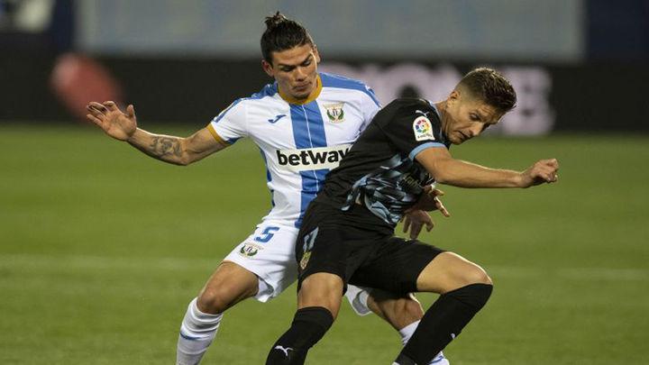 2-1. El Leganés obtiene el premio gordo ante el Almería en el minuto 94