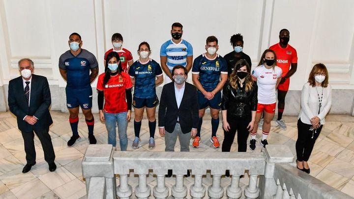 Madrid presenta el torneo internacional de rugby 7
