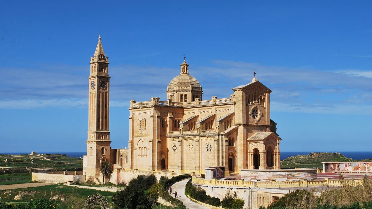 la Basílica de Ta'Pinu, Gozo