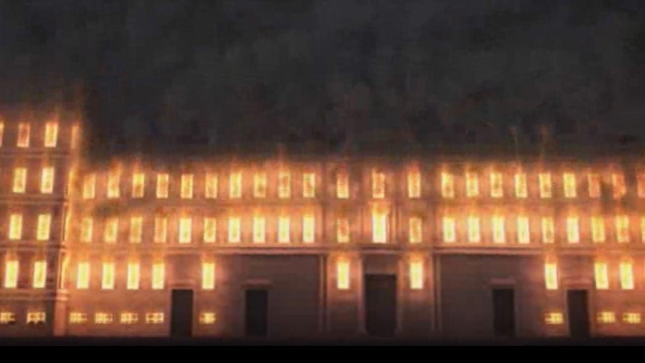 'Desmontando Madrid' reconstruye el misterioso incendio del Real Alcázar de los Austrias.