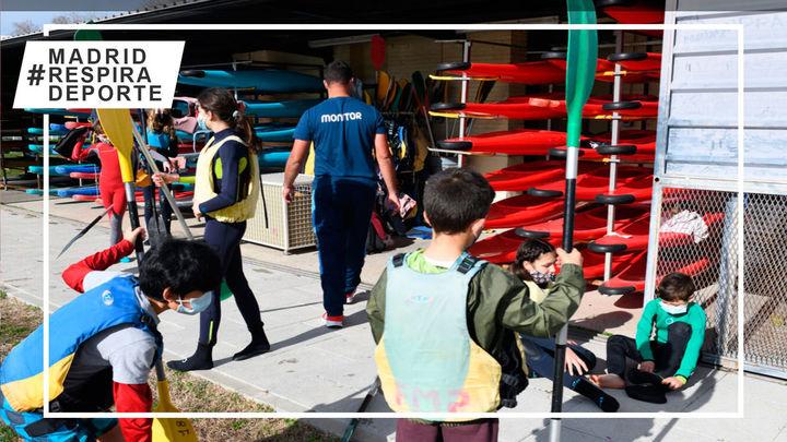 Madridtendrá una escuela de piragüismo en el Parque Deportivo Puerta de Hierro