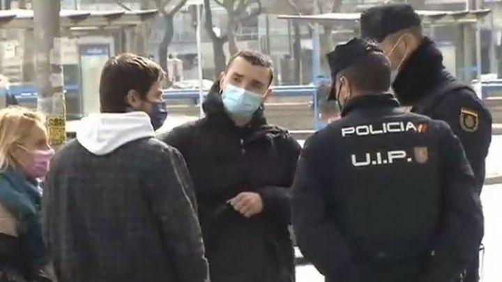 Jóvenes y algunos con antecedentes y de grupos de ultraizquierda, el perfil de los detenidos en Sol según la Policía