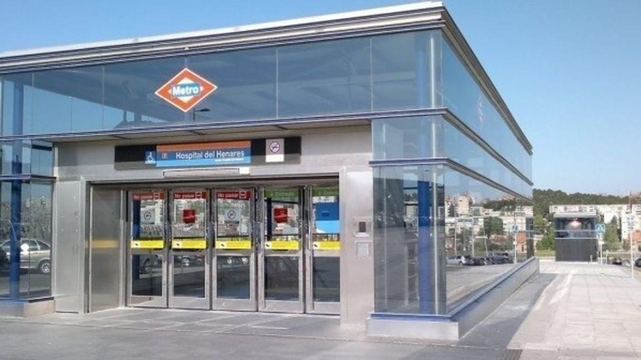 Estación de Hospital del Henares de la Línea 7 de Metro