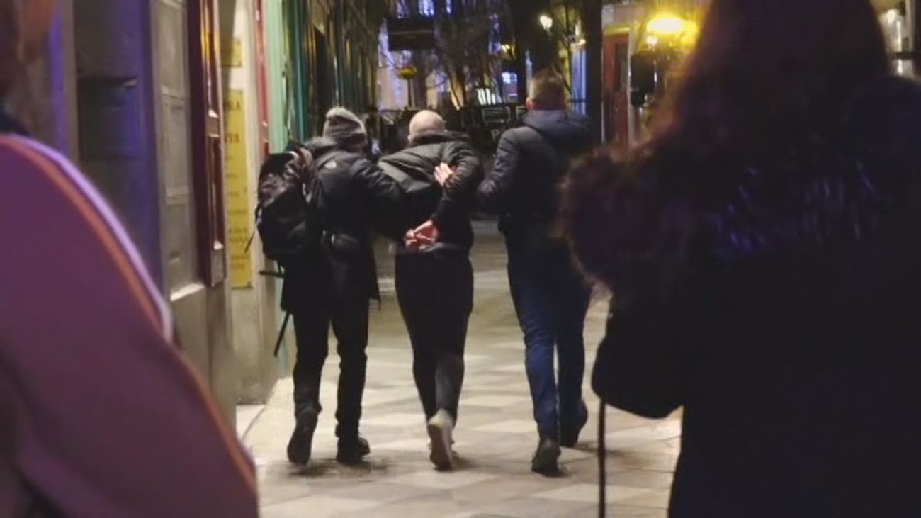 Libertad para 13 detenidos en Madrid por altercados en protesta por Hasél