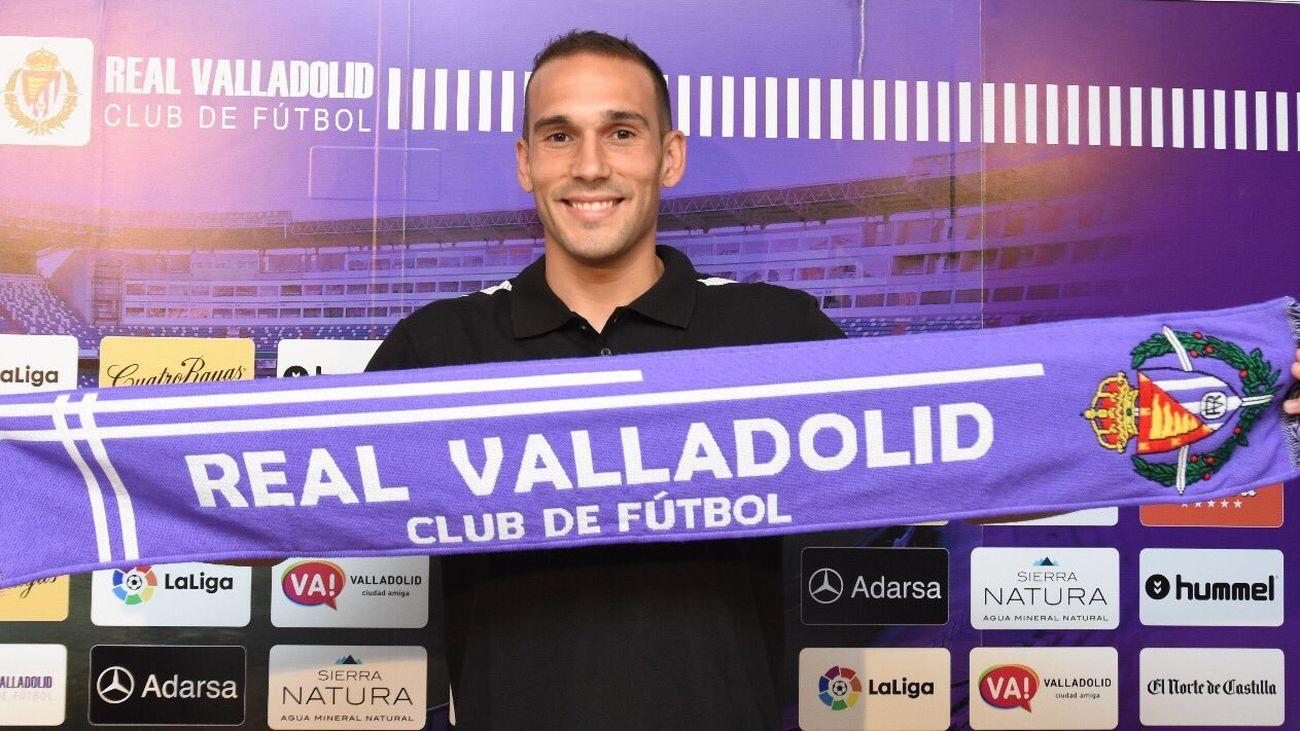 Nacho Martínez, jugador del Real Valladolid