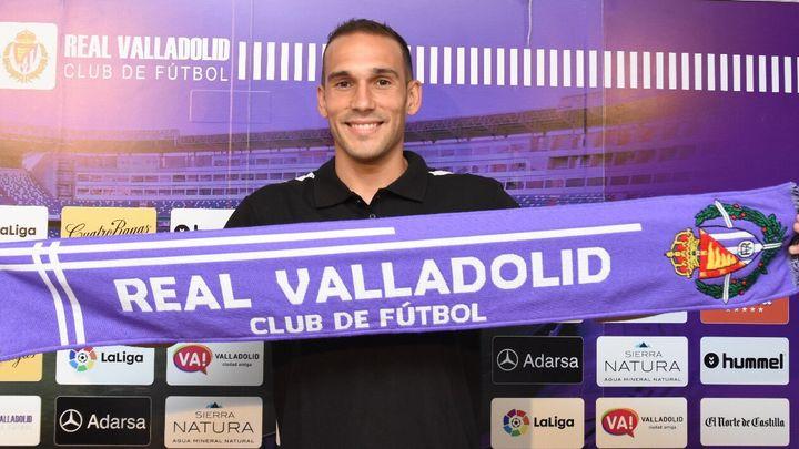 """Nacho, jugador del Valladolid: """"Esperamos al mejor Real Madrid"""""""