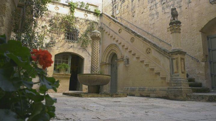 Mdina, antigua capital de Malta, una ciudad donde encontramos grandes casas y palacios de la nobleza