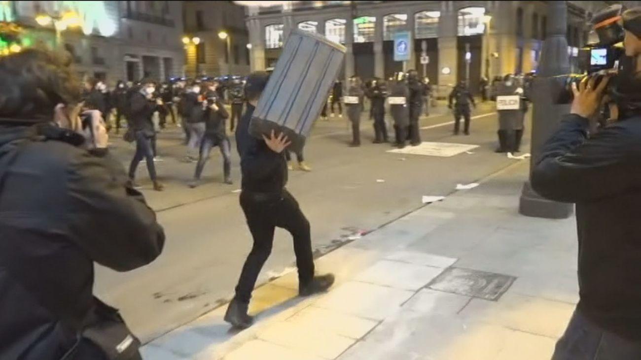 Los comerciantes del centro de Madrid hacen balance tras los saqueos y los destrozos