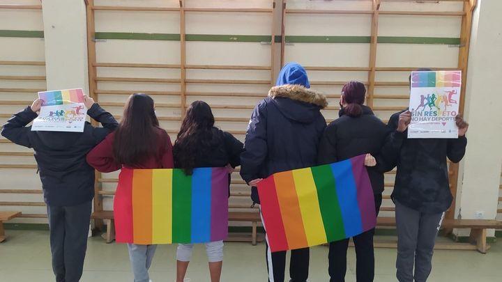 """Clubes y equipos deportivos visibilizarán la """"discriminación"""" LGTB en el deporte con una campaña en Fuenlabrada"""