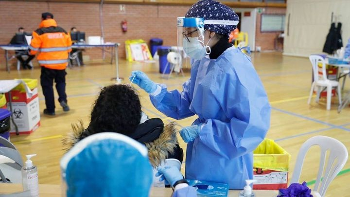 24 casos positivos en los test de antígenos realizados en Algete