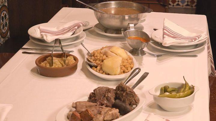 Malacatín y uno de los mejores cocidos de Madrid
