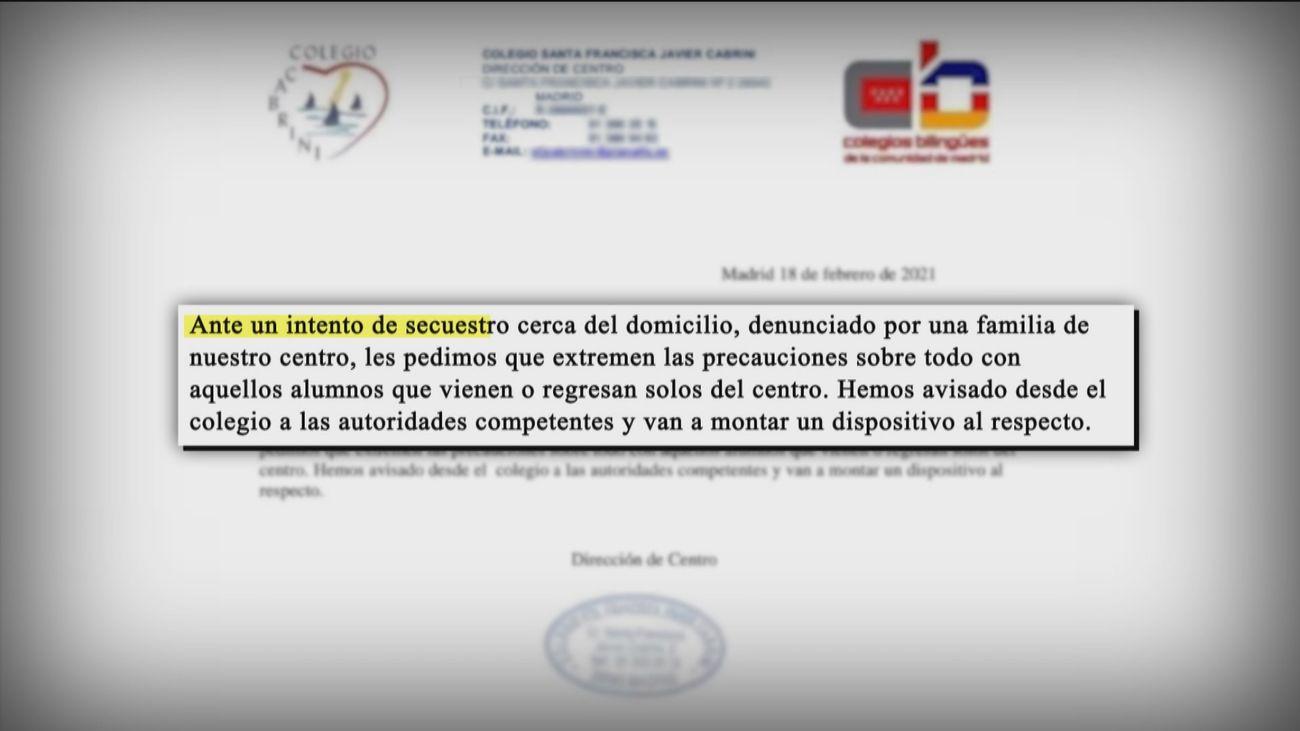 El rumor de un intento de secuestro de un niño en Hortaleza crea alarma entre los padres de la zona