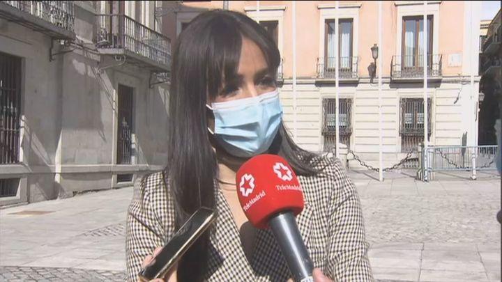 """Begoña Villacís: """"Es la primera vez en España que tenemos un Gobierno que justifica la violencia"""""""