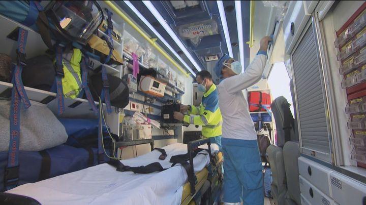 Música en las ambulancias  del 112 para amenizar el traslado de los enfermos