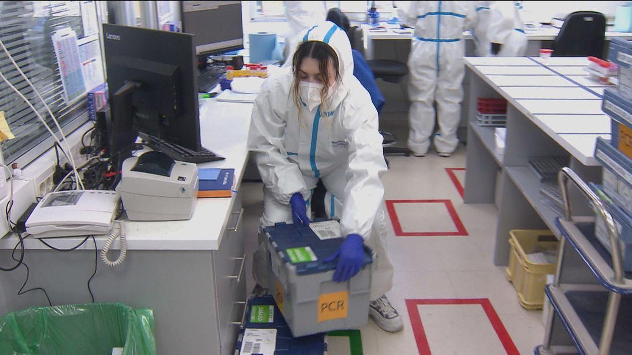 ¿Cómo funciona un laboratorio de Covid en Madrid?